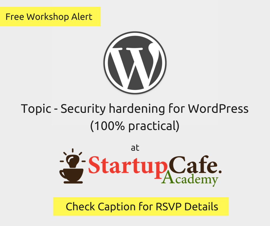 Security hardening for WordPress