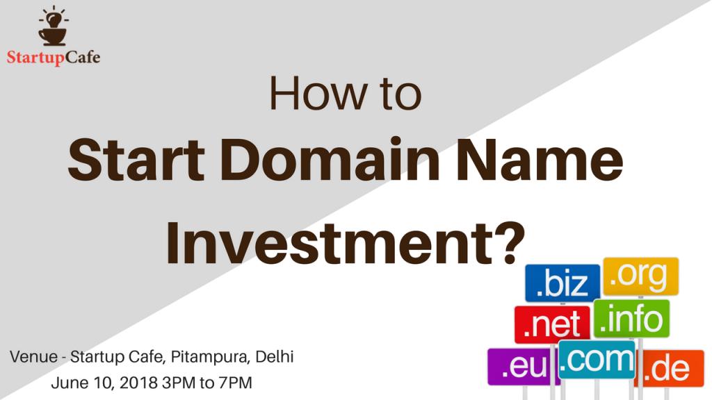 Start Domain Name Investment