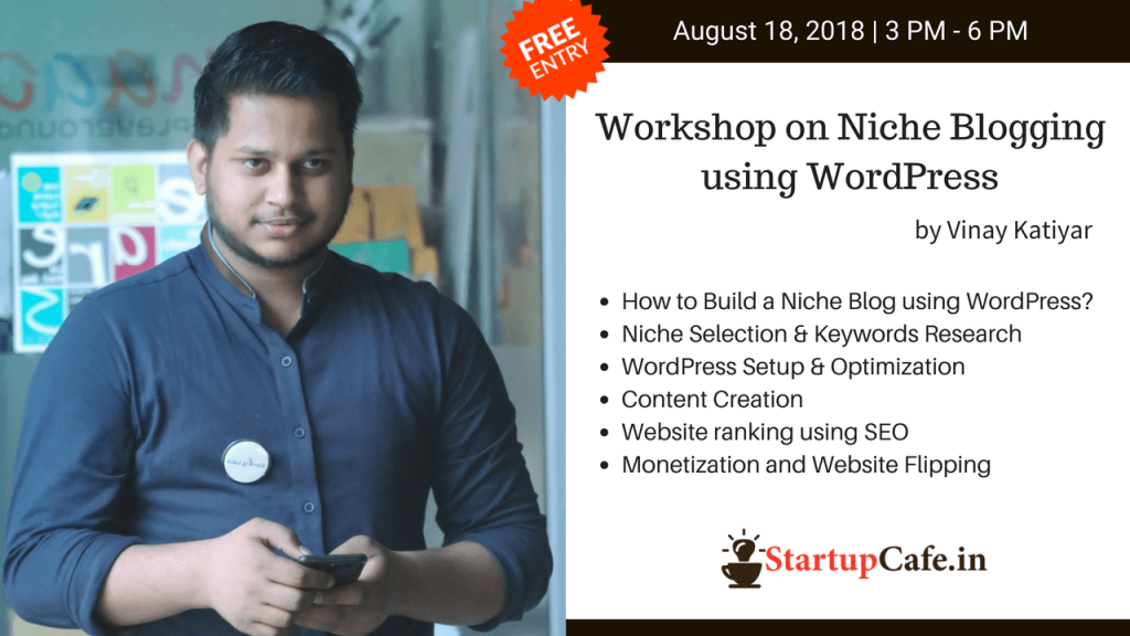 Workshop on Niche Blogging using WordPress