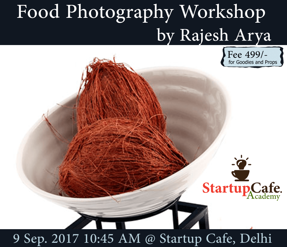 food photography workshop